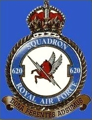 1943 Bomber Command Loss.  620 Squadron.