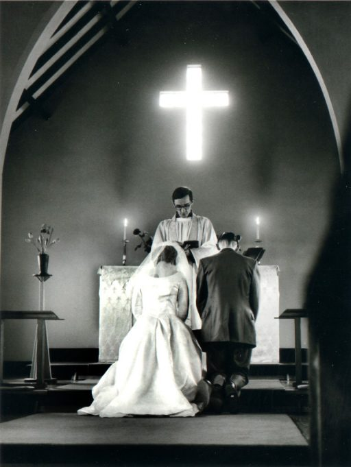 Interior of church 1961