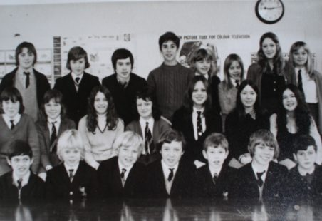 King John School - Mr Neale's Tutor Group 1971