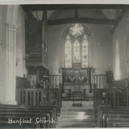 Interior of St Mary's