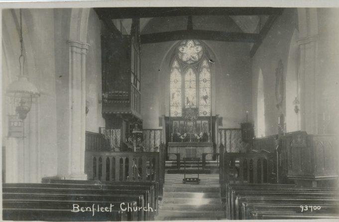 Interior of St Mary's