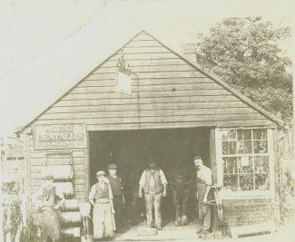 Outside the Blacksmith shop | Michael Walsh