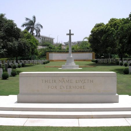 Karachi War Cemetery.  Pakistan. | Copyright.  The War Graves Photgraphic Project.