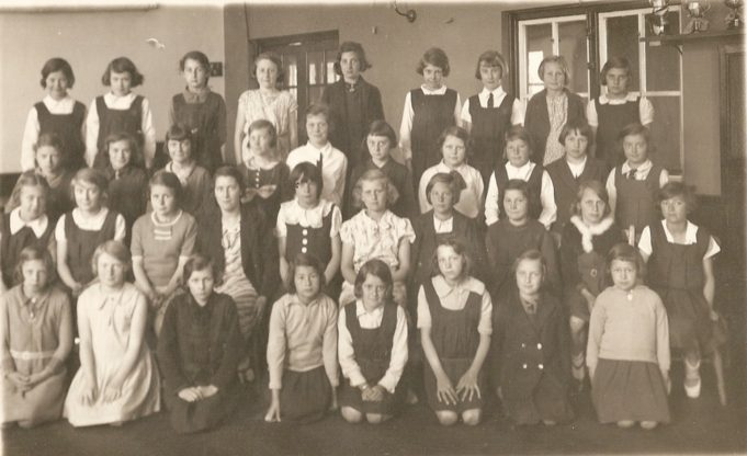 Third Year 1935 Miss Hall