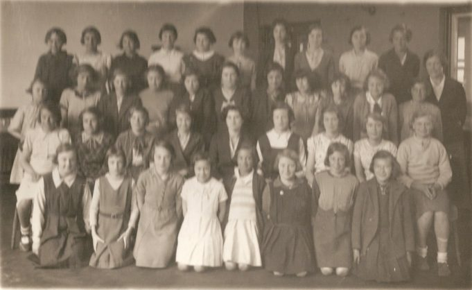 Fourth Year 1936  Miss Slowe