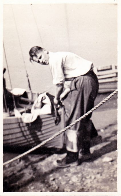Ken, location unknown. Taken approx 1940 | Eileen Brown