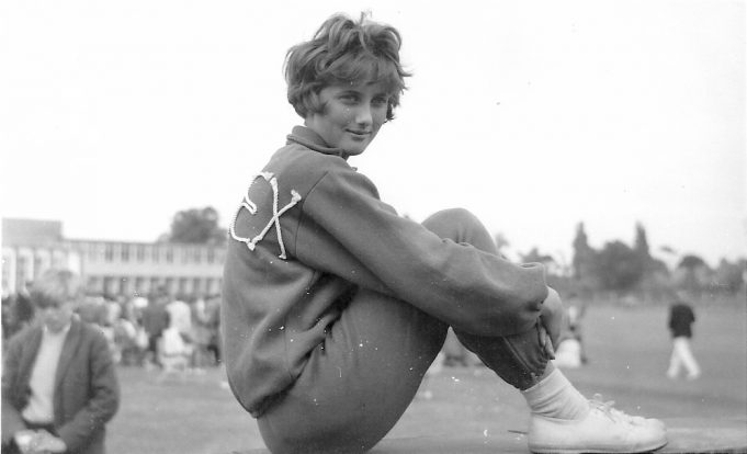 Dianne Watts - Sporting event 1960 | Ann Morrison collection