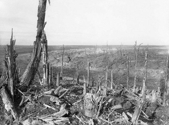 Beaumont-Hamel - General view of the battlefield | Public Domain