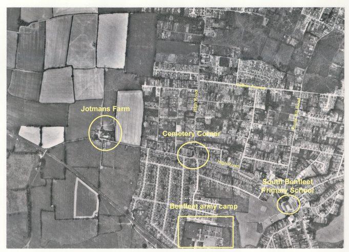 Aerial View of Benfleet in 1959 | Steve Johnson