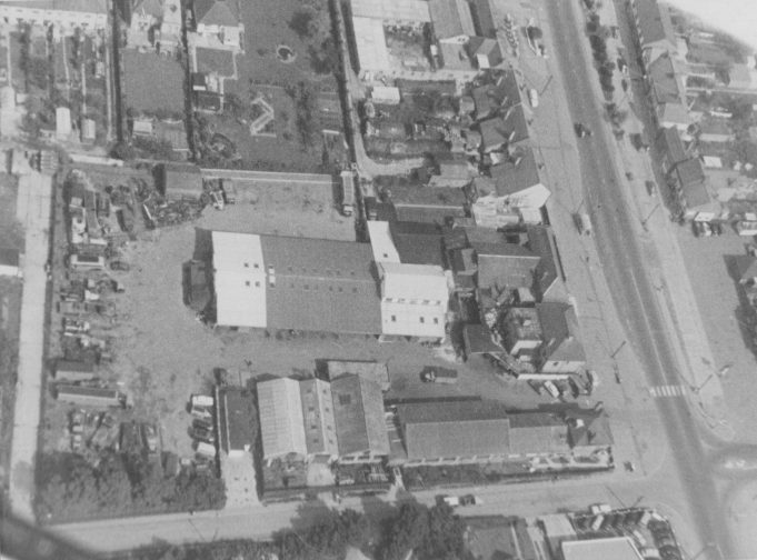 Aerial View of Essex Carriers Ltd. (Corner of London Road and Rushbottom Lane looking towards Southend) | Bob Barber