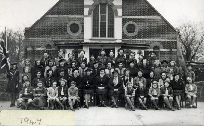 After Church Parade at Benfleet Methodist Church, 1947 | From the collection of Melanie Graham