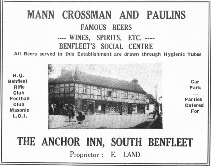 No.16 - Advert for The Anchor Inn | B.U.D.C.