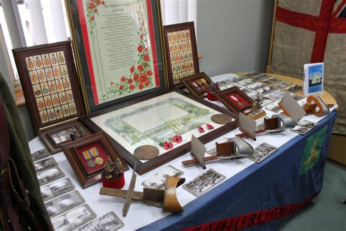 A Display by Canvey's Bay Museum