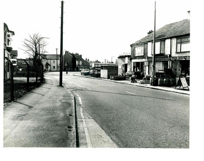Looking towards Benfleet. The shops on the right include those owned by the Ellis family. | Castle Point Council