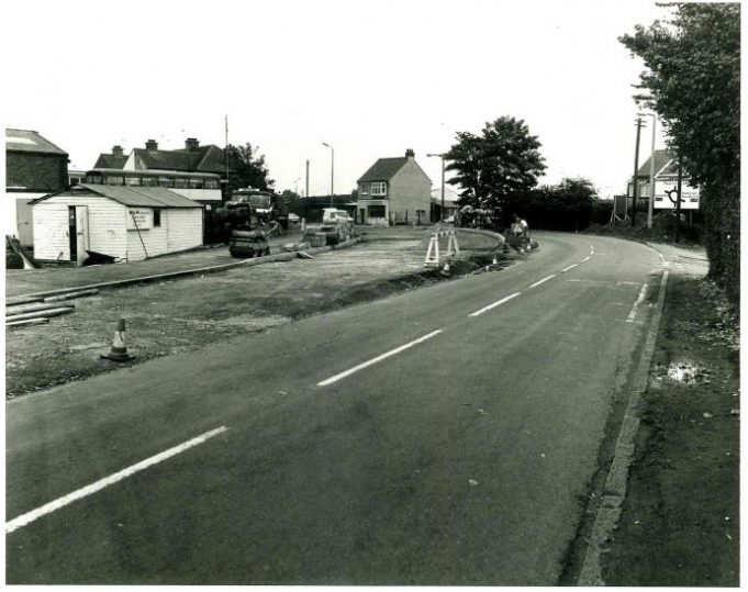 Looking towards the roundabout from Benfleet Road, close to the junction with Lynton Road. | Castle Point Council