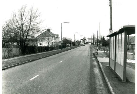 Benfleet Road in the 1970s