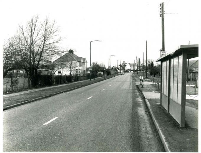 Looking towards the roundabout from Benfleet Road. | Castle Point Council