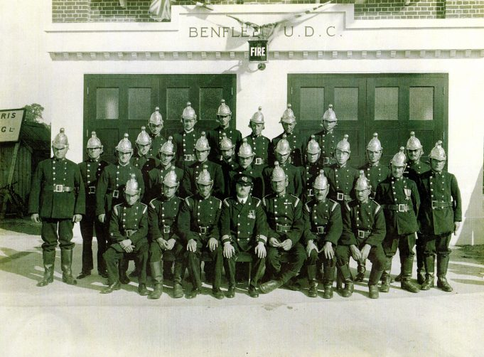 Let's hope we don't have 'a shout ' while we smile for the camera. | Essex Fire Museum