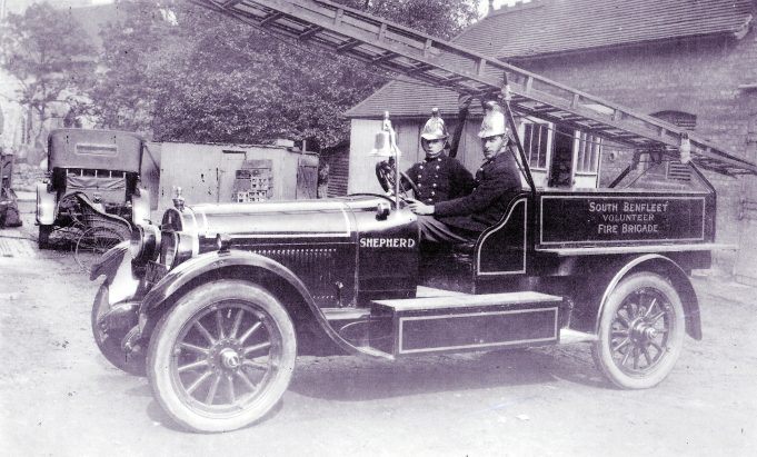 The early volunteer days circa 1920's | Essex Fire Museum