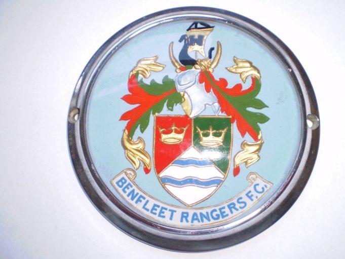 A car badge for Benfleet Rangers | Brian Baker