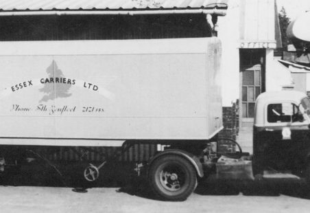Essex Carriers Ltd - Some of their vehicles