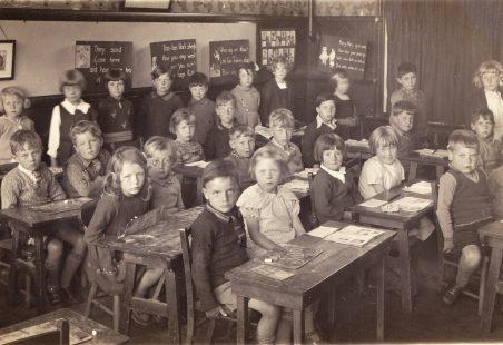 Benfleet School 1936 and 1939 - 1940