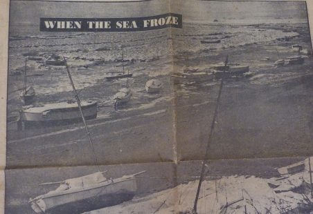 When the Sea Froze - January 1947