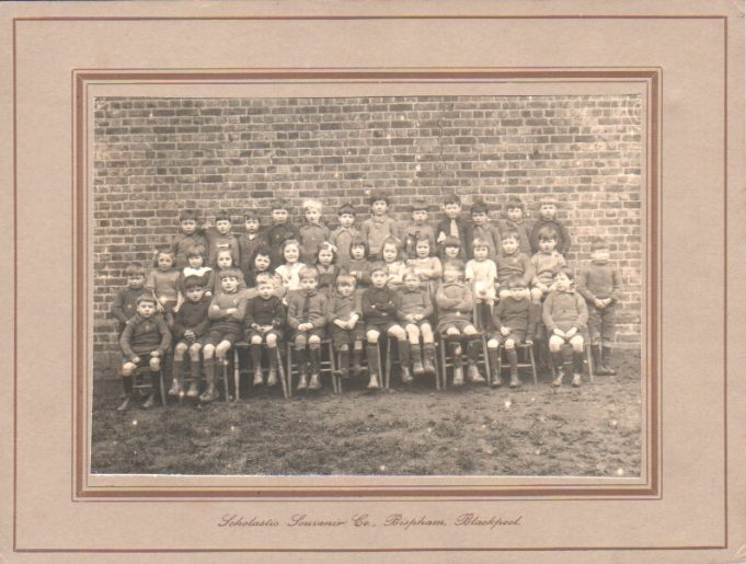 Benfleet Primary School mid 1920s. Anne's father, Gwynne, is 4th from right, back row. | Anne Harley