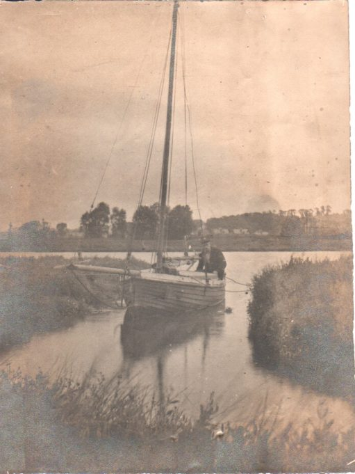 Unknown gentleman, possibly Benfleet Creek? | Anne Harley