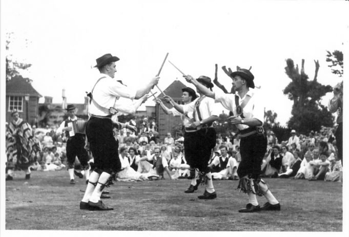 Benfleet Hoymen - Sidmouth Folk Dance Festival - 1956 | Philip and Maureen Packham