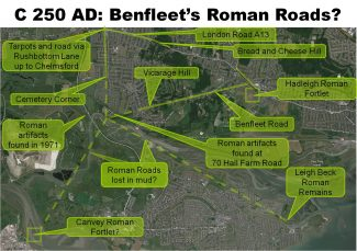 Possible Roman Roads in Benfleet and Canvey | Phil Coley