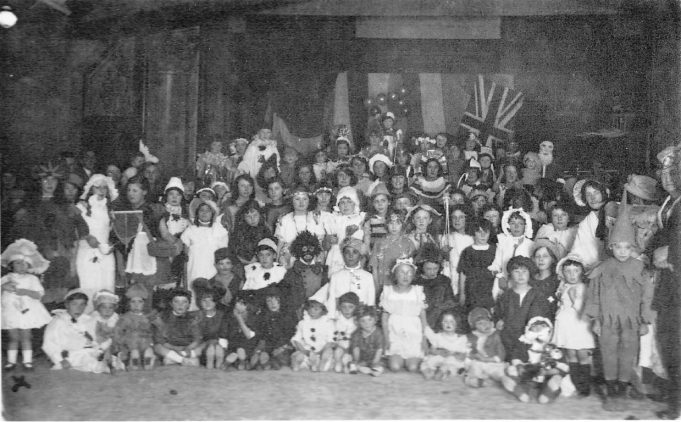 A Christmas celebration? - Benfleet Primary School  c.late 1920s | Mavis Thurley