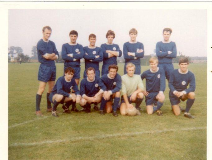 Essex Junior cup Winners !967/8.   Adam Graham, Boz  Bouchereau, Alan Farrow, Alan Whiting, Keith Way, Terry Sawford, Terry Hebburn, Charlie Poole, Keith Newman, Dave Earey, Steve Ballard, Bernard Tracey. | Brian Baker