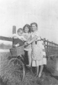 The Bennett girls- from left to right  - Anne, Sally, Joan | Anne Bennett