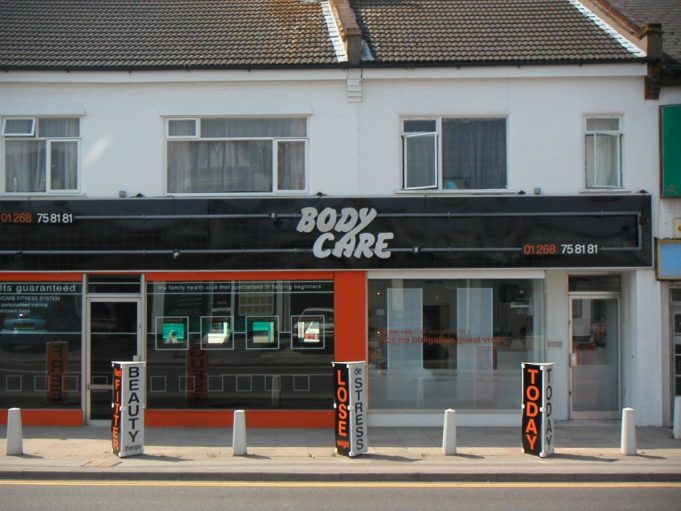 The Bodycare gym, High Road, Benfleet  in 2002 that Jude ran for many years with her husband Roger. | source unknown