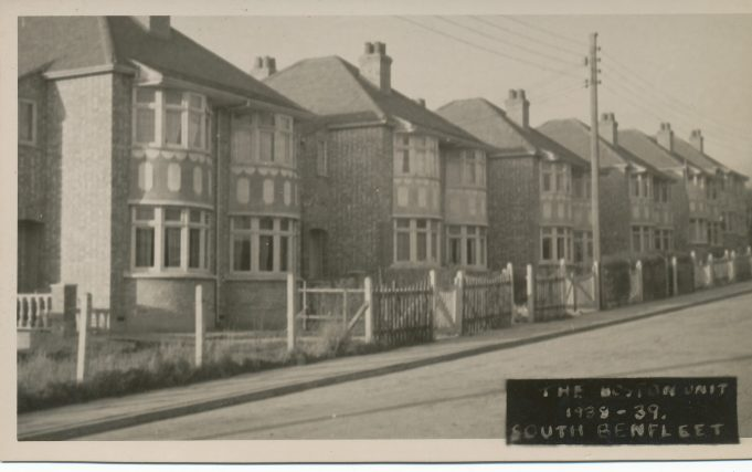 Boston Unit 1939 - 23 to 45 Clarence Road   Mark Thres