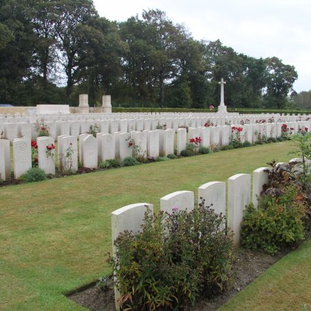 Dieppe Canadian War Cemetery. | Copyright.  The War Graves Photographic Project.
