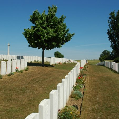 St. Souplet British Cemetery.  France. | Copyright.  The War Graves Photographic Project.