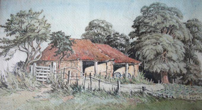 Brown's Farm  1942