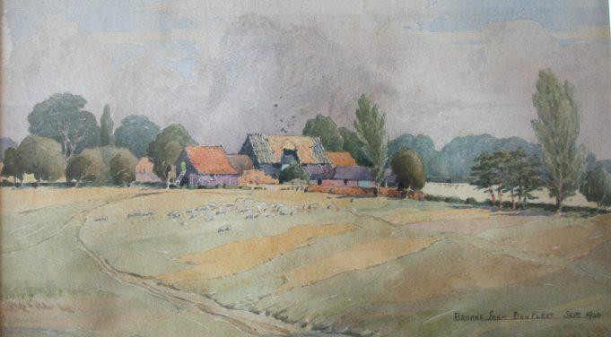 Brown's Farm  1944