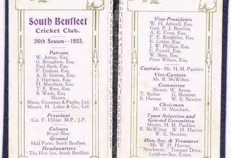 South Benfleet Cricket Club