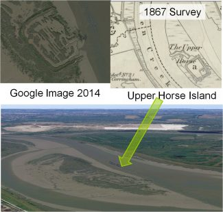 Location and shape of Canvey Roman fortlet | Phil Coley