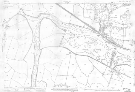 "1922 - 25"" to the mile - Ordnance Survey Map - Benfleet (Canvey to Vicarage Hill)"