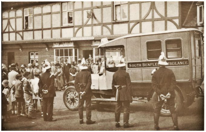 South Benfleet Ambulance Service c.1928 | Pat Baldwin