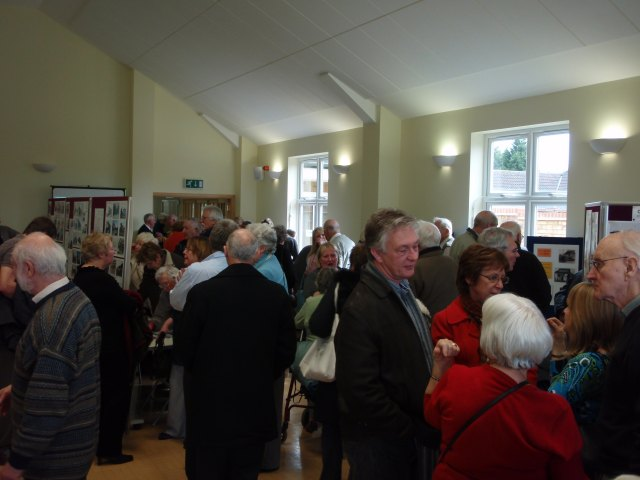 Crowds at launch event | Christine Coley
