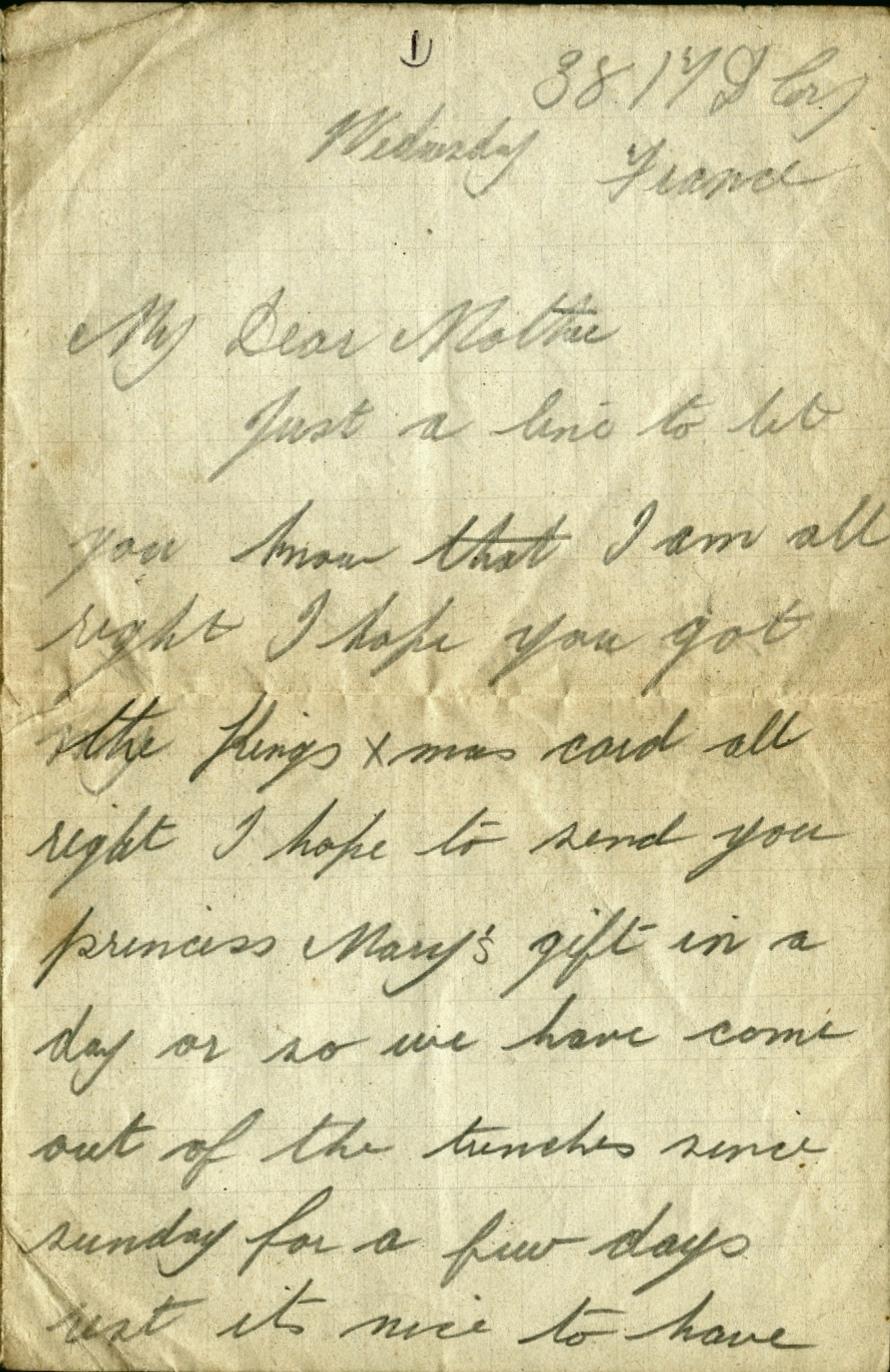 The 1914 Christmas Truce | First World War | Benfleet Community Archive