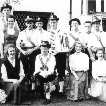 Circassian Circle at Great Burstead, 1956 | From the collection of Philip & Maureen Packham