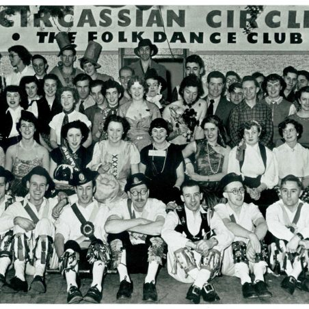 Circassian Circle Folk Dance Club - Photo Gallery | From the collection of Philip & Maureen Packham