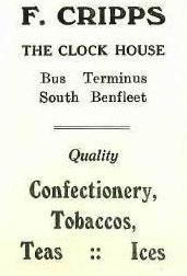 Shop 17 - Advert for The Clock House Cafe | B.U.D.C.