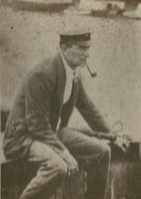 Commodore G. J Oswall Benfleet Yacht Club date unknown | Gilbert Wines